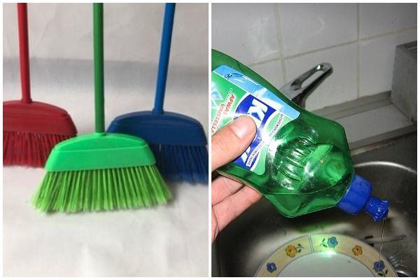 Bathtub cleaning hack