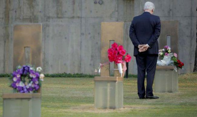 President Clinton Oklahoma City memorial