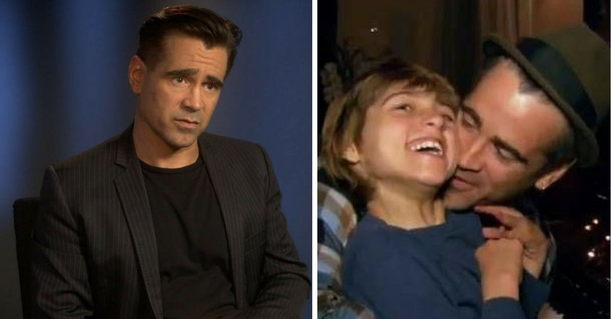 colin farrell son with angelman syndrome