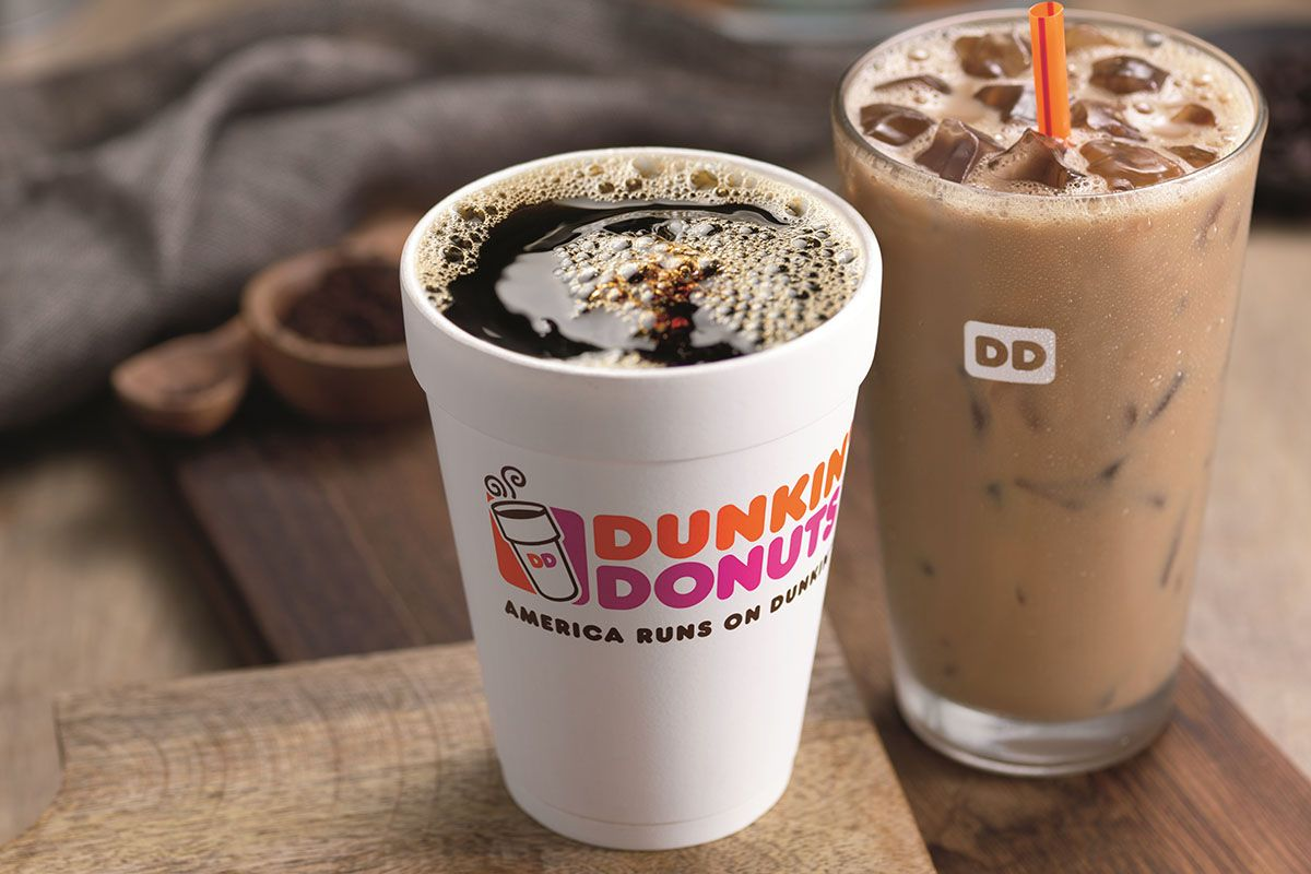 Dunkin' Donuts beverages