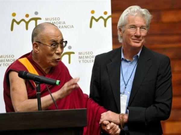 Richard Gere Dalai Lama