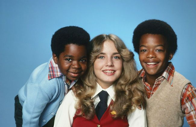 The cast of 'Diff'rent Strokes.'