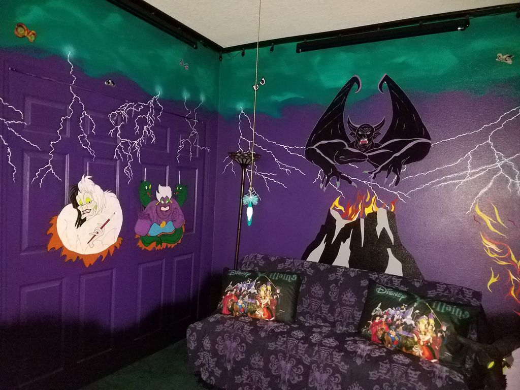 disney house villain room