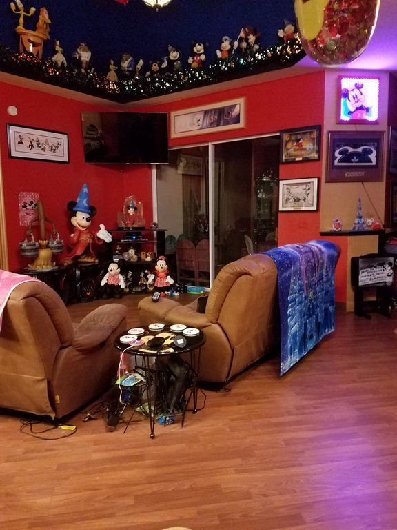 Disney house rec room