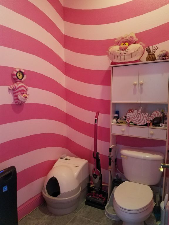 disney house cheshire cat bathroom