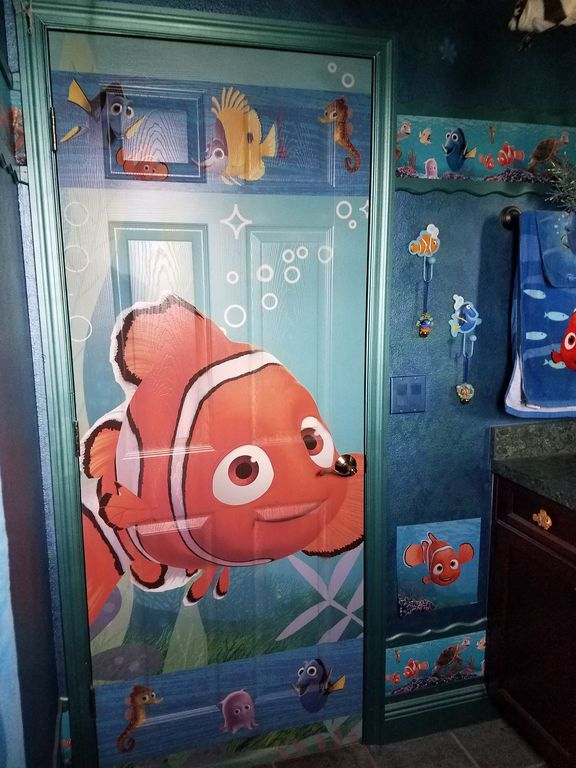 disney house finding nemo bathroom