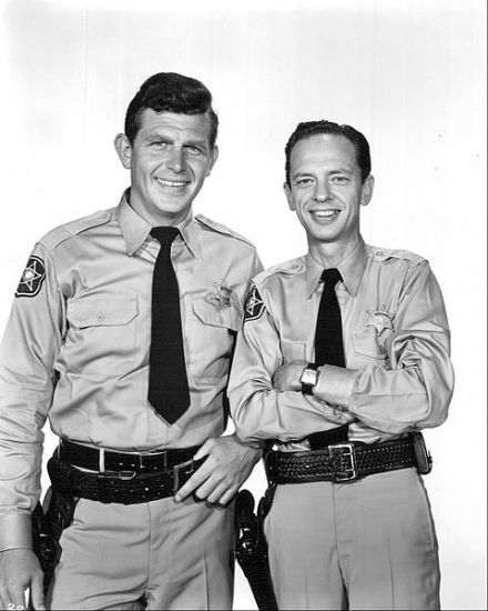 Don Knotts Andy Griffith.