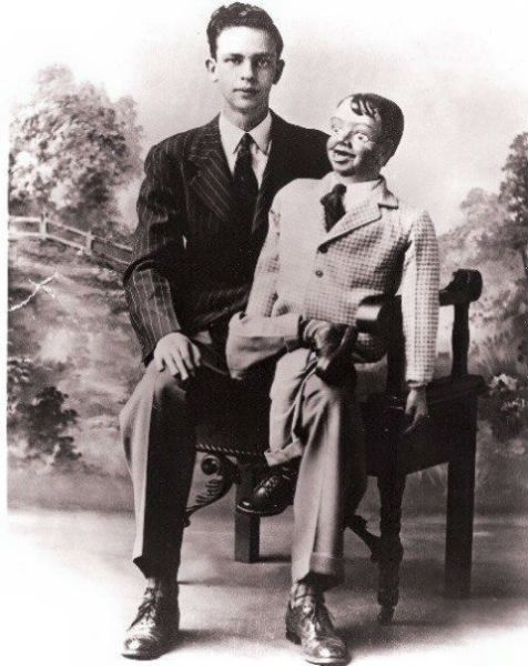 Don Knotts young