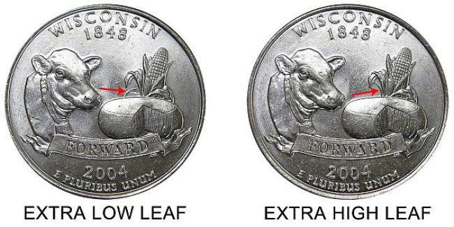 Extra leaf quarter.