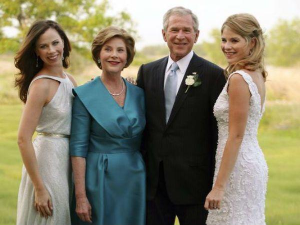 George Bush twins