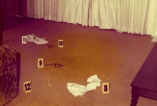 Golden State Killer crime scene