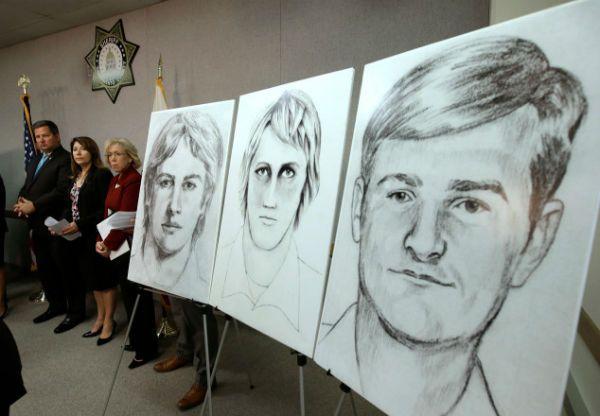 Golden State Killer cold case.