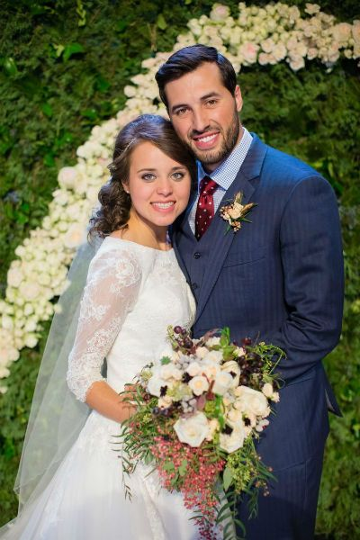 Jinger Duggar wedding to Jeremy Vuolo.
