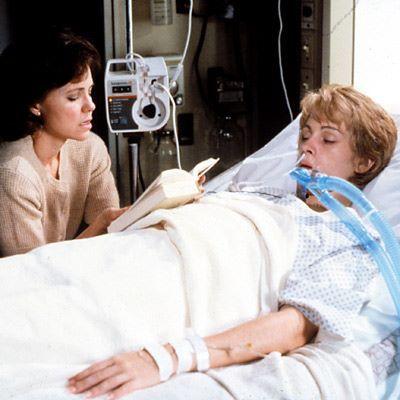 Steel Magnolias hospital scene