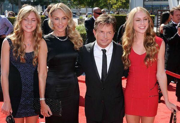 Michael J. Fox twins.