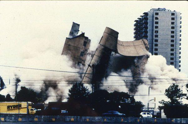 Murrah building demolition