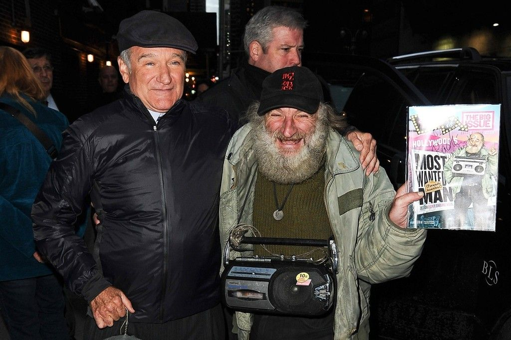 Robin Williams and a homeless man named Radioman