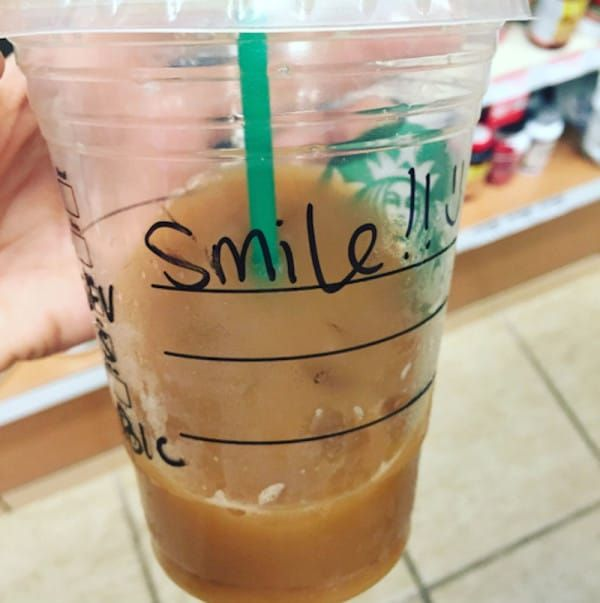 Bekah Georgy's Starbucks drink