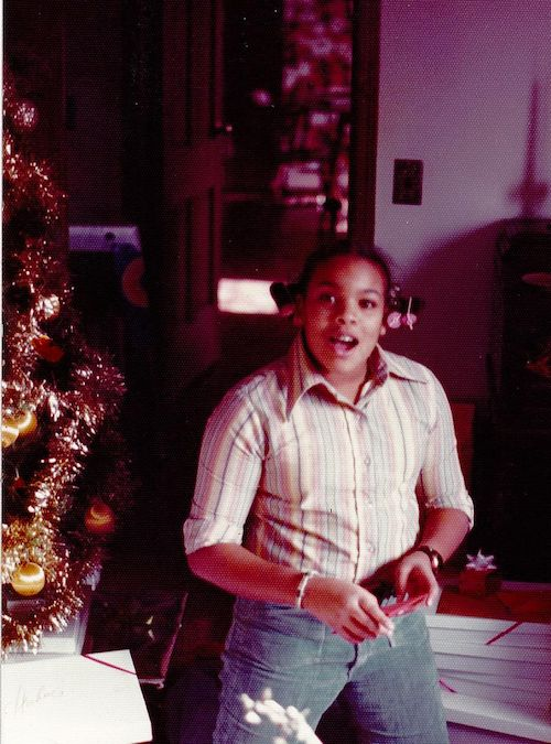 Wendy Williams at 12 years old.
