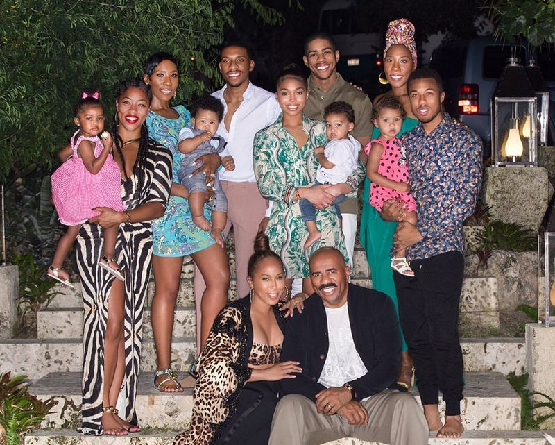 Steve Harvey's family