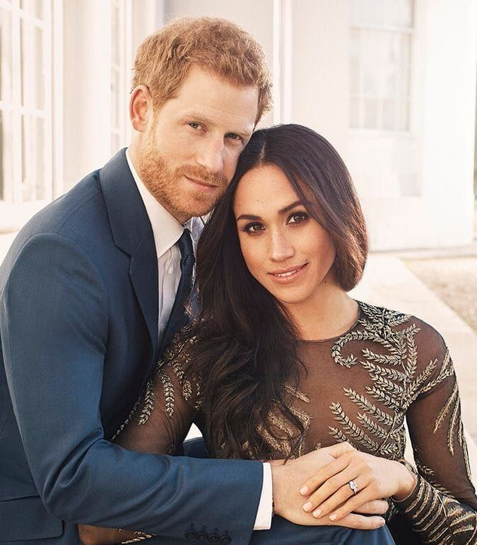 Prince Harry and Meghan engagement shoot