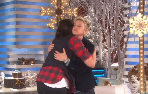 The Ellen Show Jacqui Saldana.