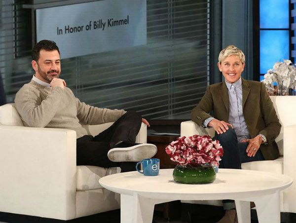 The Ellen Show Jimmy Kimmel