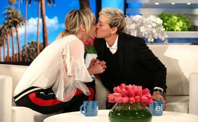 The Ellen Show Portia de Rossi