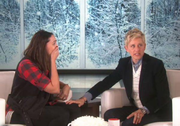 Ellen Show Jacqui Saldana
