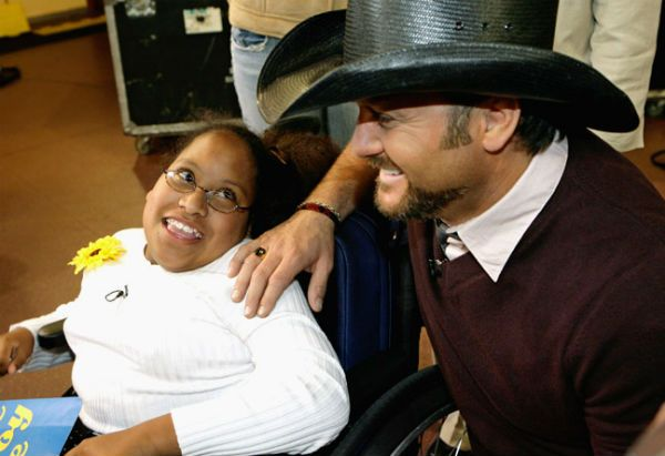 Make-A-Wish Tim McGraw
