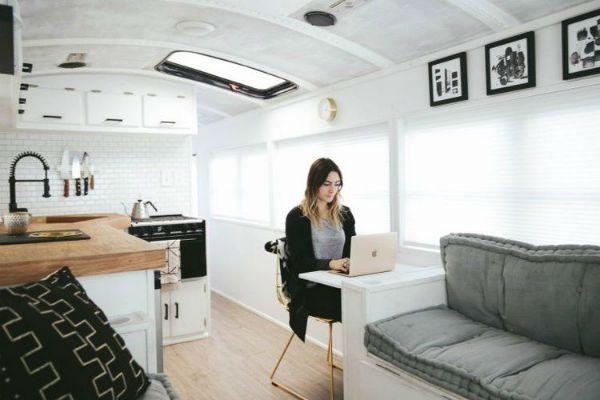 Tiny Home bus