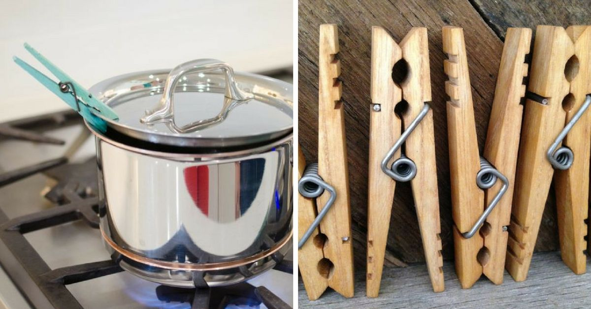 13 Clothespin Uses That Don't Involve Laundry