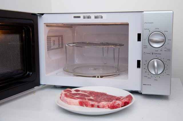 microwave meat