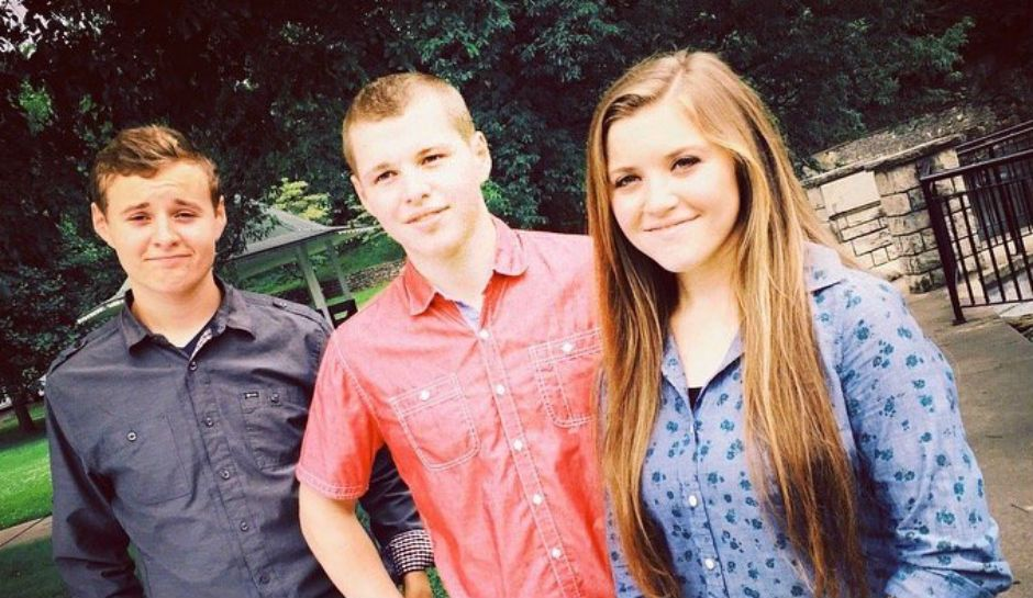 Joy-Anna and her brothers