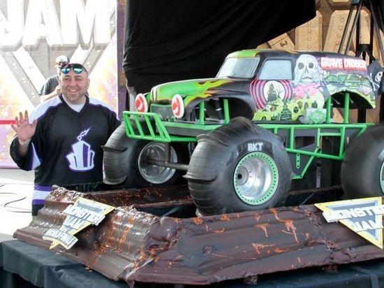 1 The Monster Truck Cake