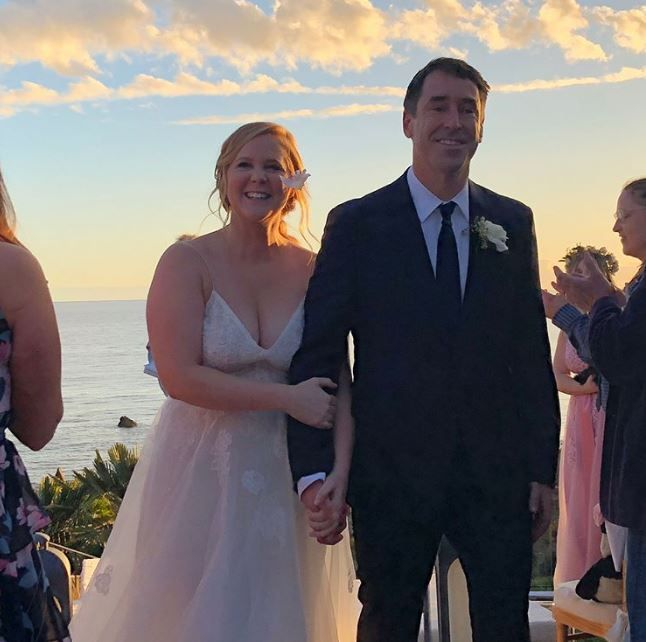 Amy Schumer and Chris Fischer's wedding