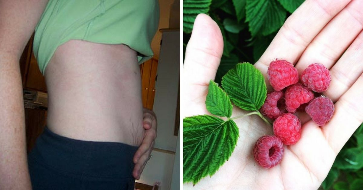 8 week pregnancy to raspberry comparison