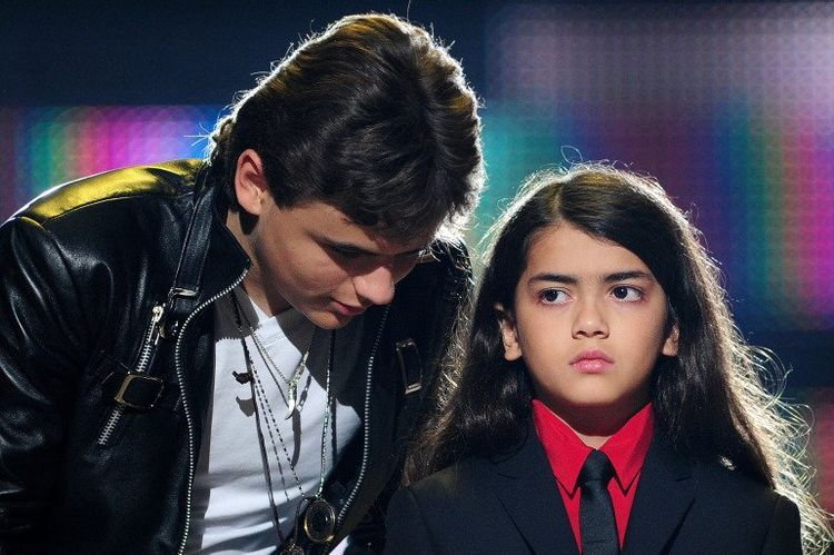 Blanket and his brother Prince