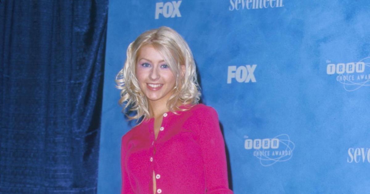 Christina Aguilera in 1999