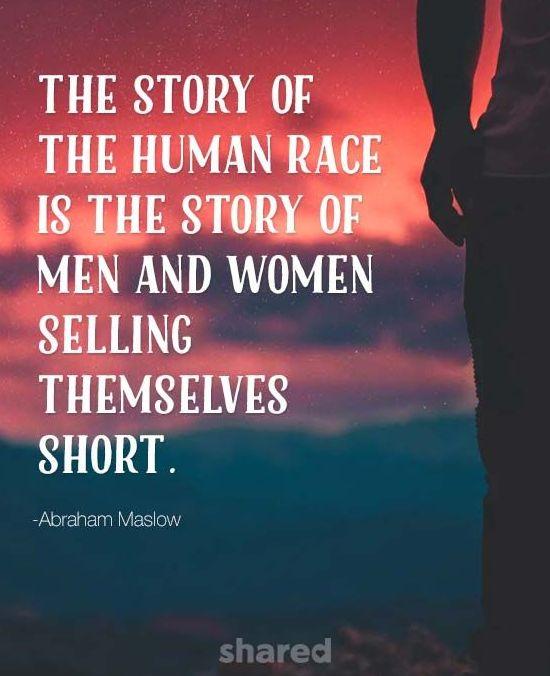 Abraham Maslow confidence quote