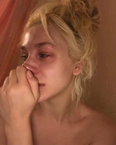 Courtney Stodden looking devastated
