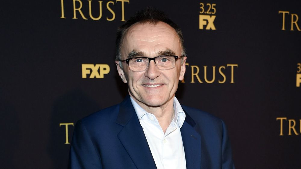 Danny Boyle at the 'Trust' premiere
