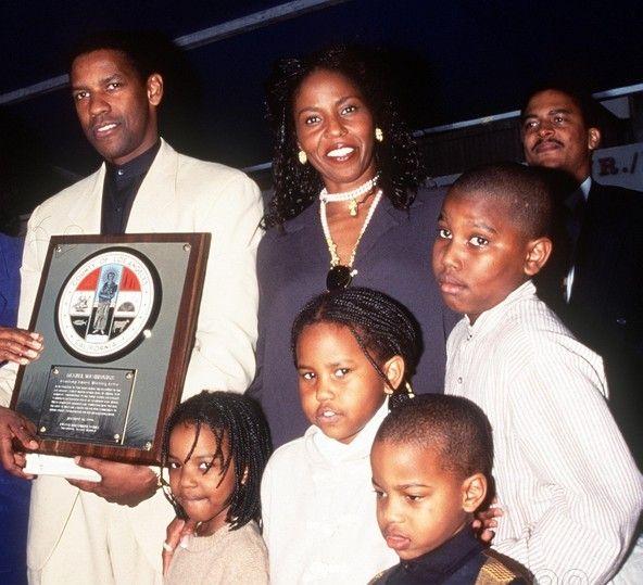 Denzel Washington twins.