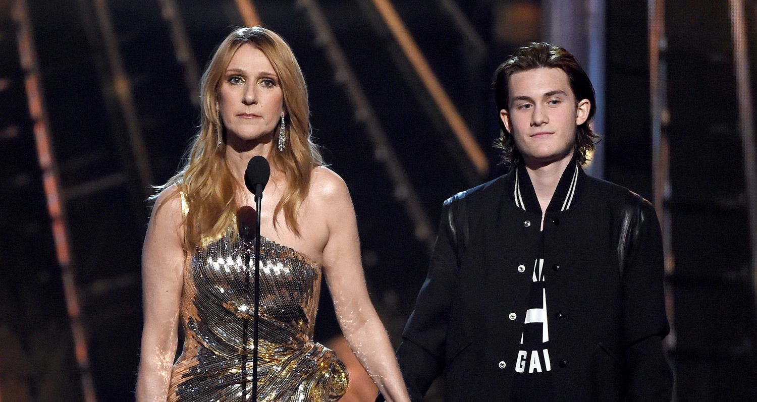 celine and her son