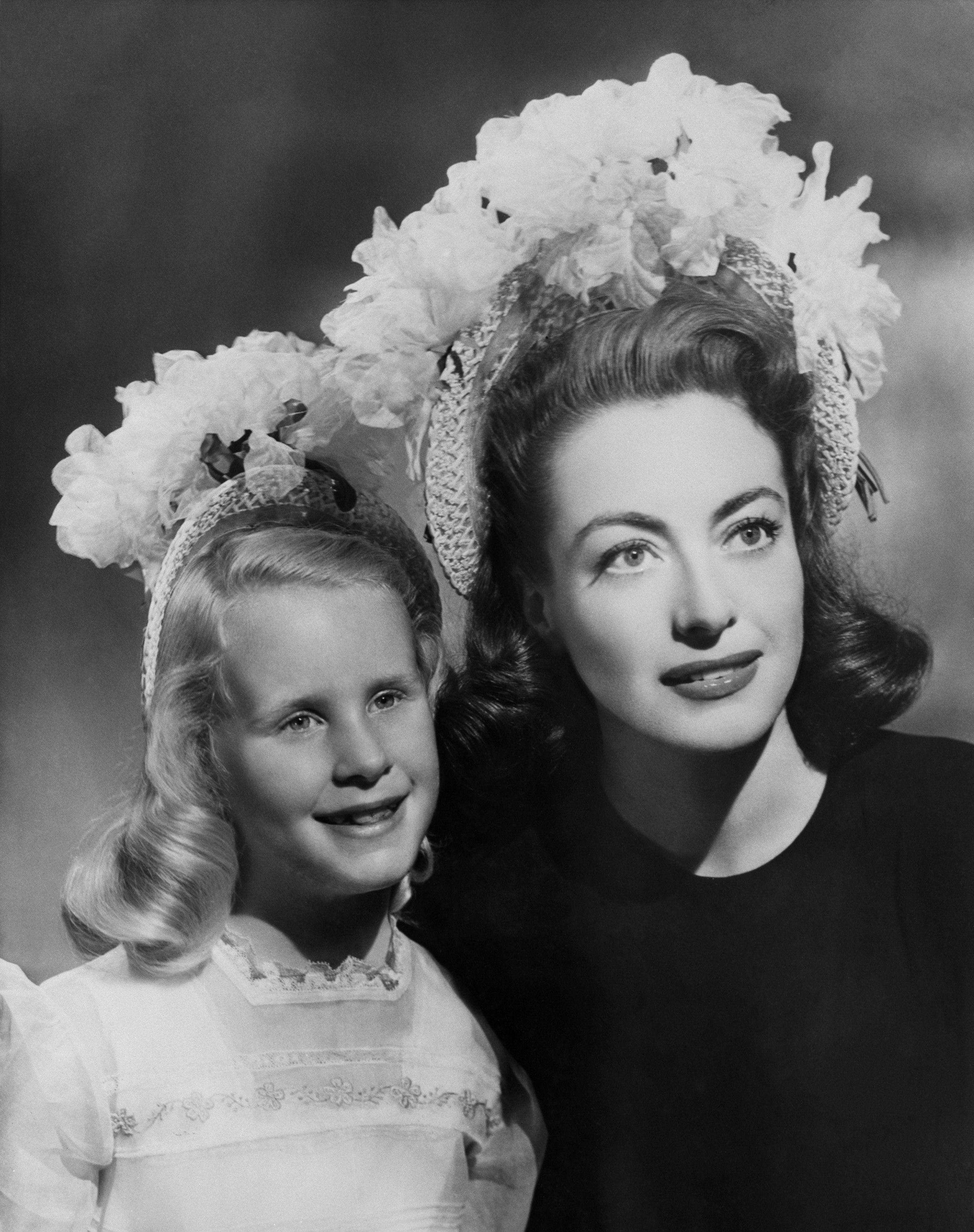 Joan Crawford and Christina