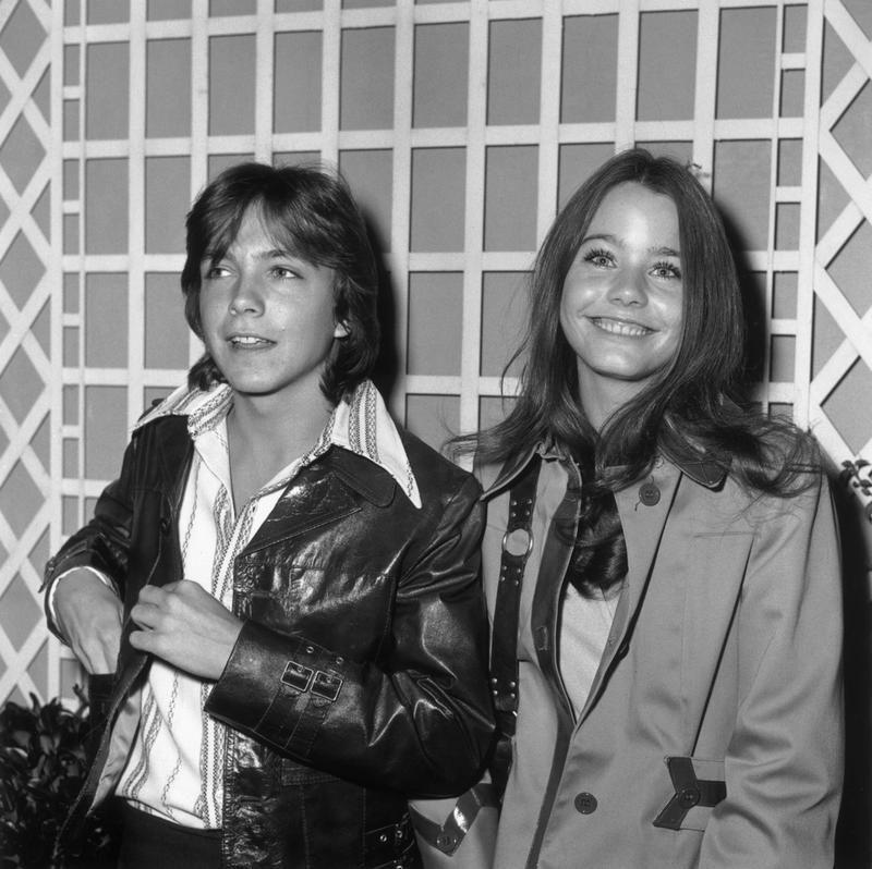 David Cassidy and Susan Dey