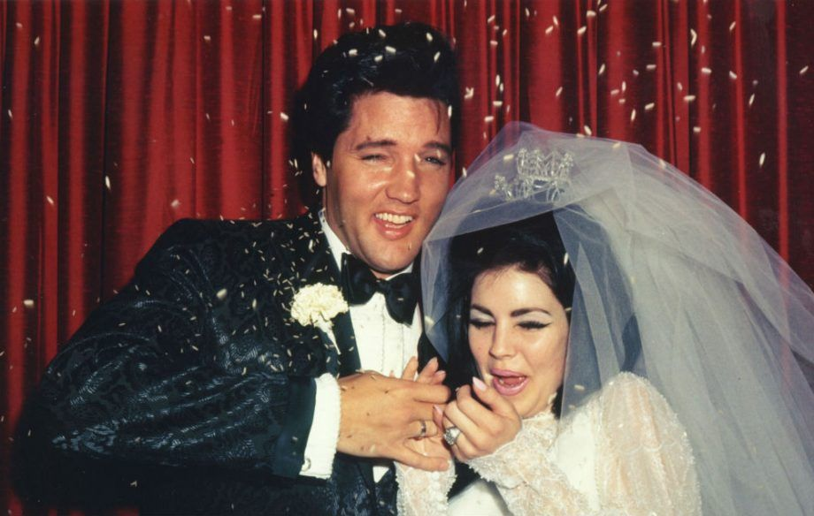 Priscilla and Elvis wedding