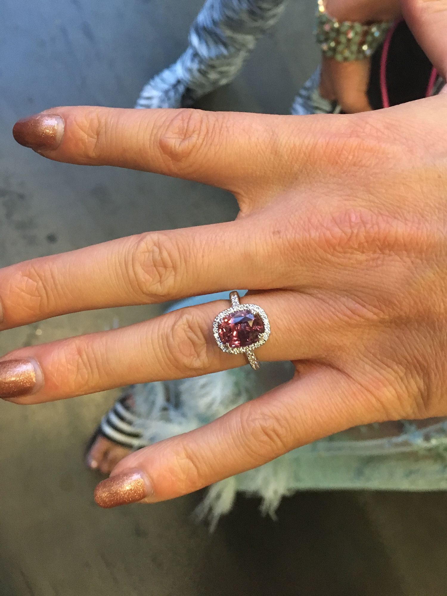 Emma Slater engagement ring