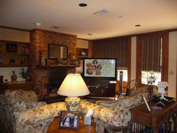Steel Magnolias House Family Room