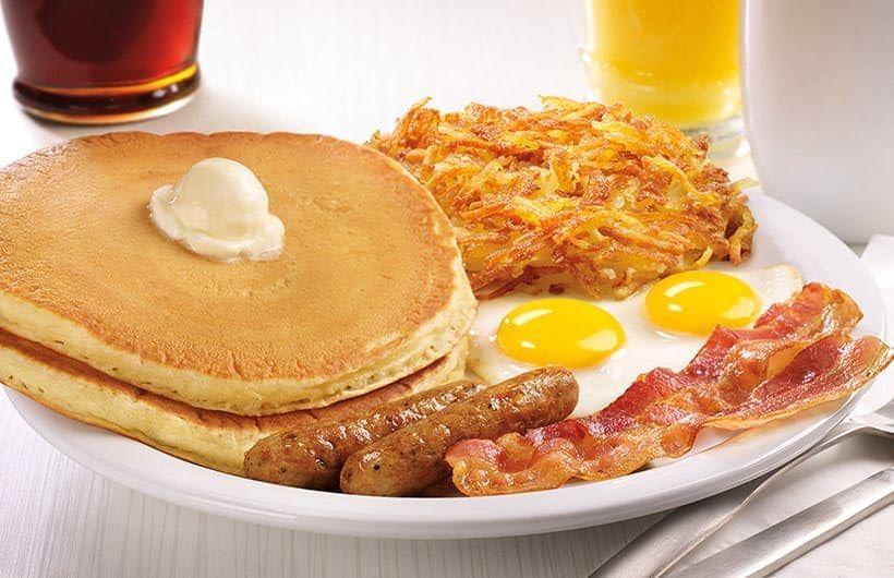 Dennys Grand Slam Breakfast